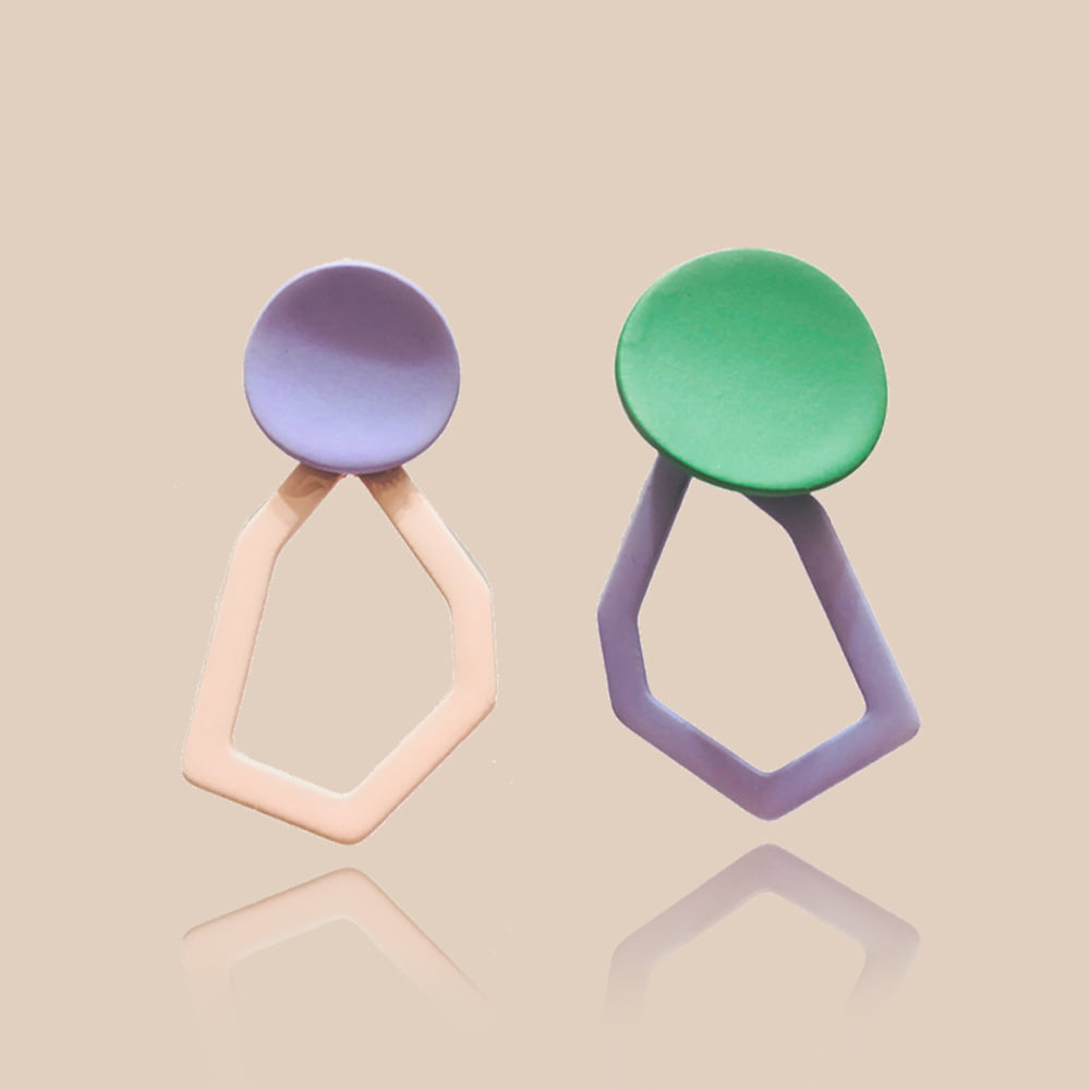 3RD Color Pop Earrings Ps01